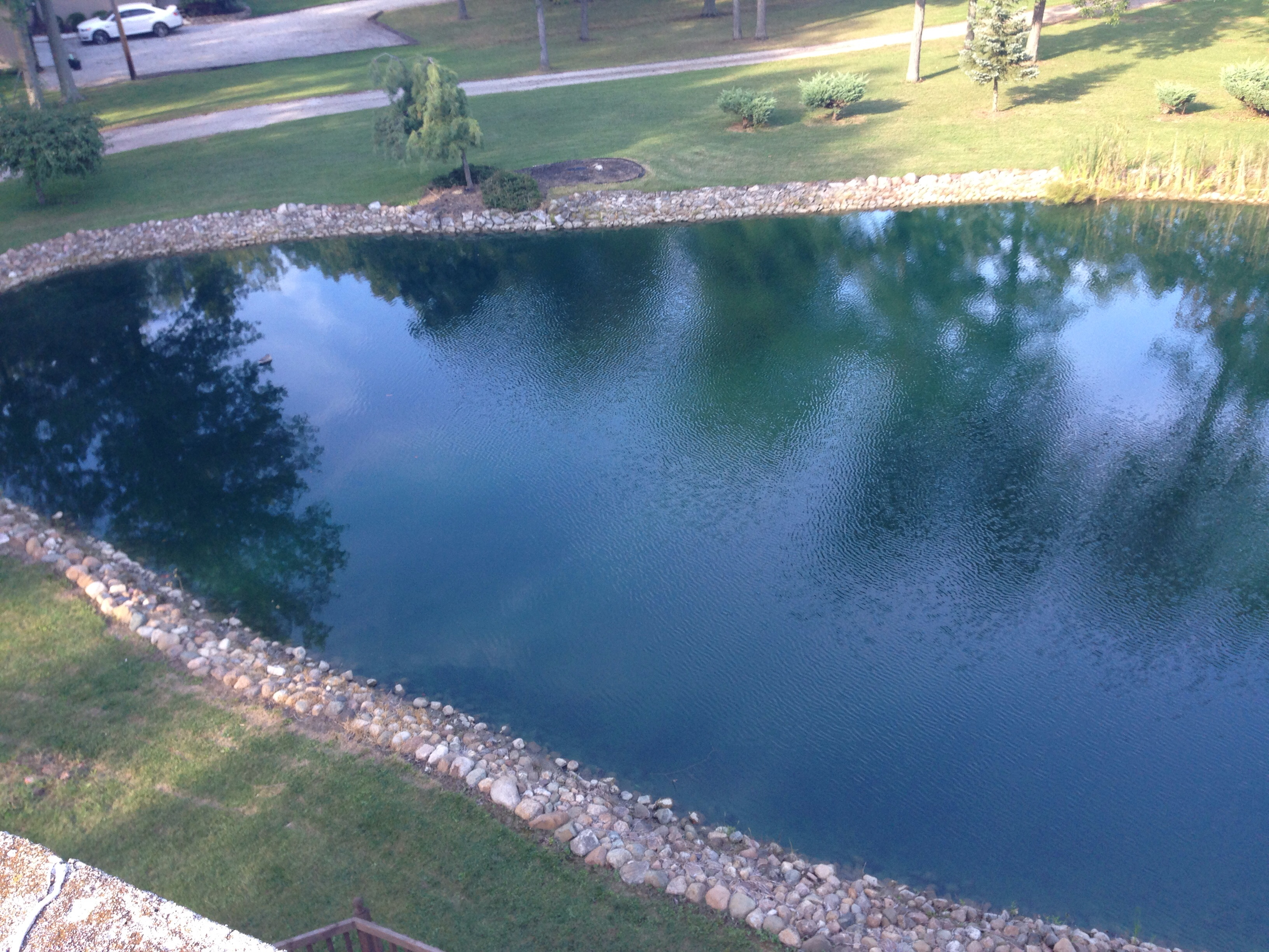 New here 1 4 acre pond cold climate geoexchange forum for 1 acre pond design